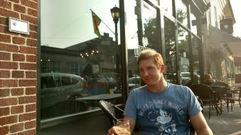 Brandon of Underground Coffee and Ales